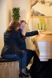Fototermin im Hause Willenbücher: Abschied in Ruhe im hauseigenen Abschiednahmeraum