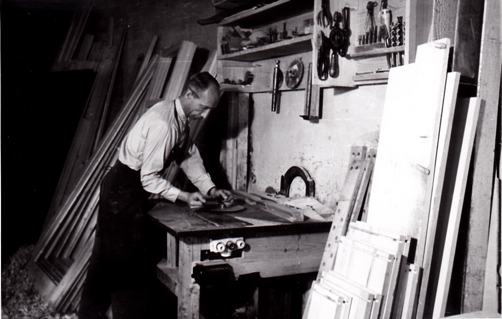 Werkstatt ab 1945