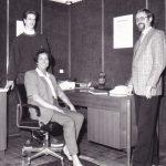 Familie Willenbücher im Büro - 1990er