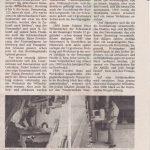 Jubiläumsbericht über Schreinerei und Bestattungen Willenbücher 1993